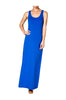 Sleeveless Racerback Maxi Dress | 30% Off First Order | Royal Blue