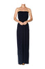 Strapless Maxi Dress With Smocked Waistline - BodiLove | 30% Off First Order  - 3