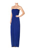 Strapless Maxi Dress With Smocked Waistline - BodiLove | 30% Off First Order  - 21