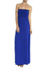 Trendy Solid Color Strapless Maxi Dress - BodiLove | 30% Off First Order  - 4