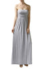 Trendy Solid Color Strapless Maxi Dress - BodiLove | 30% Off First Order  - 11