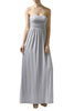 Trendy Solid Color Strapless Maxi Dress - BodiLove | 30% Off First Order  - 12