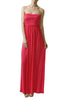 Trendy Solid Color Strapless Maxi Dress - BodiLove | 30% Off First Order  - 15
