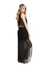 Sleeveless Chiffon Maxi Dress W/ Back Cutout - BodiLove | 30% Off First Order  - 4