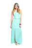 Sleeveless Chiffon Maxi Dress W/ Back Cutout - BodiLove | 30% Off First Order  - 5