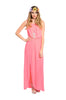 Sleeveless Chiffon Maxi Dress W/ Back Cutout - BodiLove | 30% Off First Order  - 7
