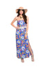 Strapless Maxi Dress W/ Crochet Trimmed Flounce - BodiLove | 30% Off First Order  - 1