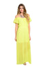 Dressy Ruffle Sleeve Chiffon Maxi Dress - BodiLove | 30% Off First Order  - 3