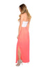 Strapless Color Blocked Maxi Dress - BodiLove | 30% Off First Order  - 4
