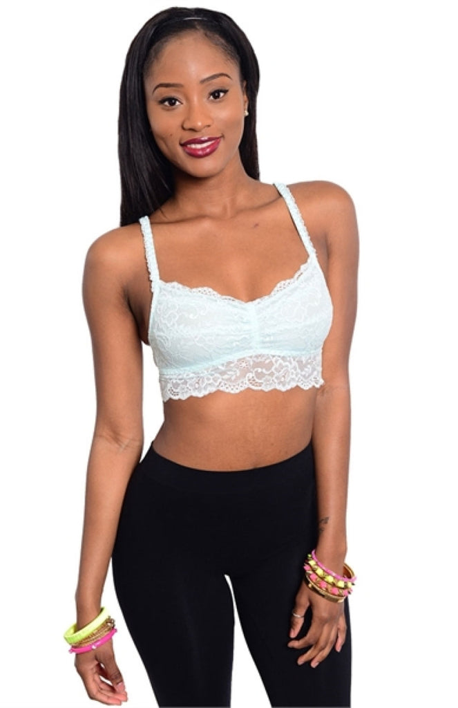 Lace Bra Top - BodiLove | 30% Off First Order  - 3