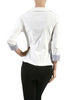 Tailored 3/4 Sleeve Single Button Blazer - BodiLove | 30% Off First Order  - 6
