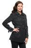 Double Breasted Peacoat W/ Sash Belt - BodiLove | 30% Off First Order - 6