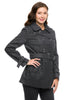 Double Breasted Peacoat W/ Sash Belt - BodiLove | 30% Off First Order - 9