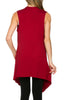 Draped Open Front Jersey Knit Vest - BodiLove | 30% Off First Order  - 22