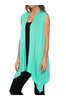 Draped Open Front Jersey Knit Vest - BodiLove | 30% Off First Order  - 36