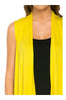 Draped Open Front Jersey Knit Vest - BodiLove | 30% Off First Order  - 71