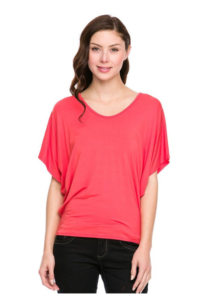 Dolman Sleeve Relaxed Fit Top - BodiLove | 30% Off First Order  - 4