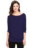 3/4 Batwing Dolman Sleeve Tunic - BodiLove | 30% Off First Order  - 7