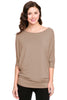 3/4 Batwing Dolman Sleeve Tunic - BodiLove | 30% Off First Order  - 13