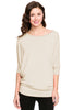 3/4 Batwing Dolman Sleeve Tunic - BodiLove | 30% Off First Order  - 28