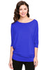 3/4 Batwing Dolman Sleeve Tunic - BodiLove | 30% Off First Order  - 31