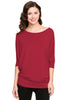 3/4 Batwing Dolman Sleeve Tunic - BodiLove | 30% Off First Order  - 40