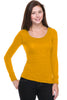 Hacci Scoop Neck Long Sleeve Top - BodiLove | 30% Off First Order  - 13