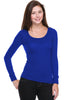 Hacci Scoop Neck Long Sleeve Top - BodiLove | 30% Off First Order  - 19