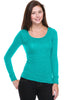 Hacci Scoop Neck Long Sleeve Top - BodiLove | 30% Off First Order  - 25