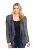 Lace Open Drape Plus Size Cardigan - BodiLove | 30% Off First Order  - 4