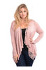 Lace Open Drape Plus Size Cardigan - BodiLove | 30% Off First Order  - 17