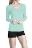 Long Sleeve V-Neck Top - BodiLove | 30% Off First Order  - 22