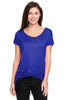 Short Sleeve Top with Chiffon Trim - BodiLove | 30% Off First Order  - 16