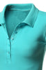 Short Sleeve 5 Button Polo Shirt - BodiLove | 30% Off First Order  - 24