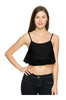 Crochet Lace Spaghetti Strap Crop Top - BodiLove | 30% Off First Order  - 1
