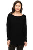 Long Dolman Sleeve Scoop Neck Tunic Top - BodiLove | 30% Off First Order - 1