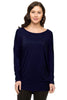 Long Dolman Sleeve Scoop Neck Tunic Top - BodiLove | 30% Off First Order - 7