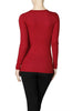 Long Sleeve Henley Top - BodiLove | 30% Off First Order  - 3