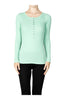 Long Sleeve Henley Top - BodiLove | 30% Off First Order  - 8
