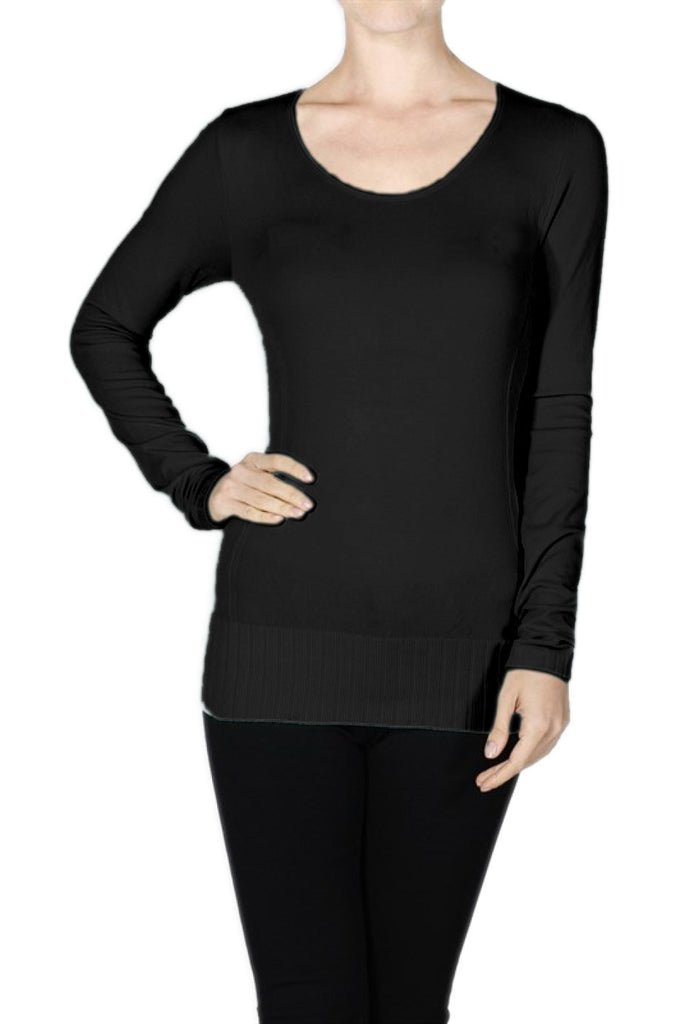 Seamless Long Sleeve Top - BodiLove | 30% Off First Order  - 4