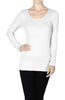 Seamless Long Sleeve Top - BodiLove | 30% Off First Order  - 10