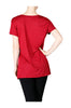 Short Sleeve Studded Pocket Boyfriend Tee - BodiLove | 30% Off First Order  - 2