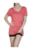 Short Sleeve Studded Pocket Boyfriend Tee - BodiLove | 30% Off First Order  - 4