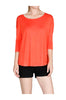 3/4 Sleeve Jersey Knit Top W/ Open Back - BodiLove | 30% Off First Order  - 14