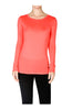 Trendy Long Sleeve Scoop Neck Top - BodiLove | 30% Off First Order  - 22