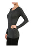 Trendy Long Sleeve Scoop Neck Top - BodiLove | 30% Off First Order  - 4