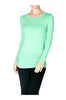 Trendy Long Sleeve Scoop Neck Top - BodiLove | 30% Off First Order  - 6