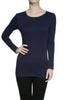 Trendy Long Sleeve Scoop Neck Top - BodiLove | 30% Off First Order  - 14