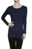 Trendy Long Sleeve Scoop Neck Top - BodiLove | 30% Off First Order  - 3
