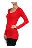 Trendy Long Sleeve Scoop Neck Top - BodiLove | 30% Off First Order - 7
